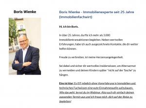 Immobilienmakler Boris Wienke